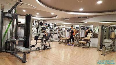 Salle de sport Evexia Gym à Santorin