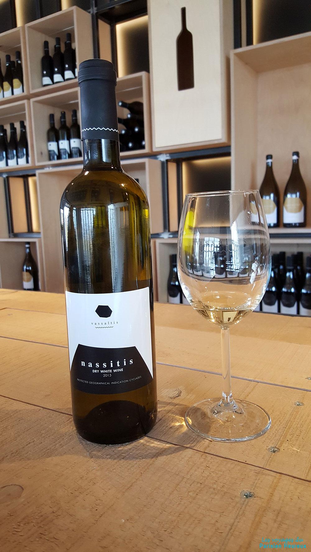Le vin de Santorin