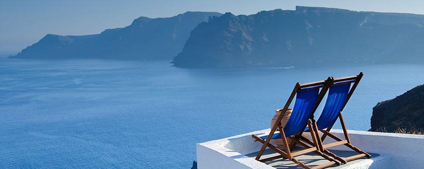 Les cyclades en mer Egée