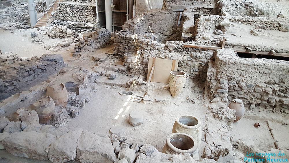 Cité antique Akrotiri