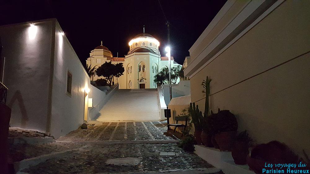 Eglise d'Agios Charalambos à Exo Gonia à Santorin