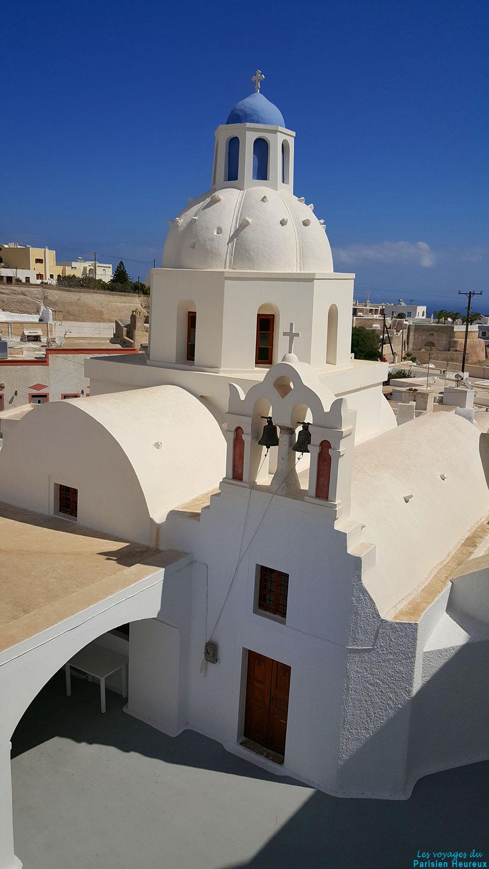 L'église de Messaria à Santorin