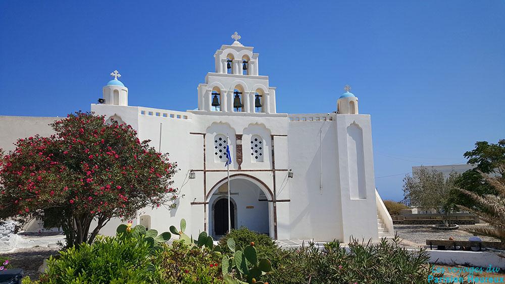 Eglise Sainte Trinité, Pyrgos, Santorin