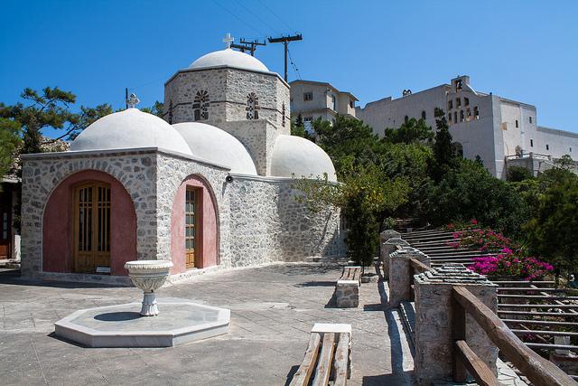 Monastère du prophète Elias à Pyrgos, Santorin