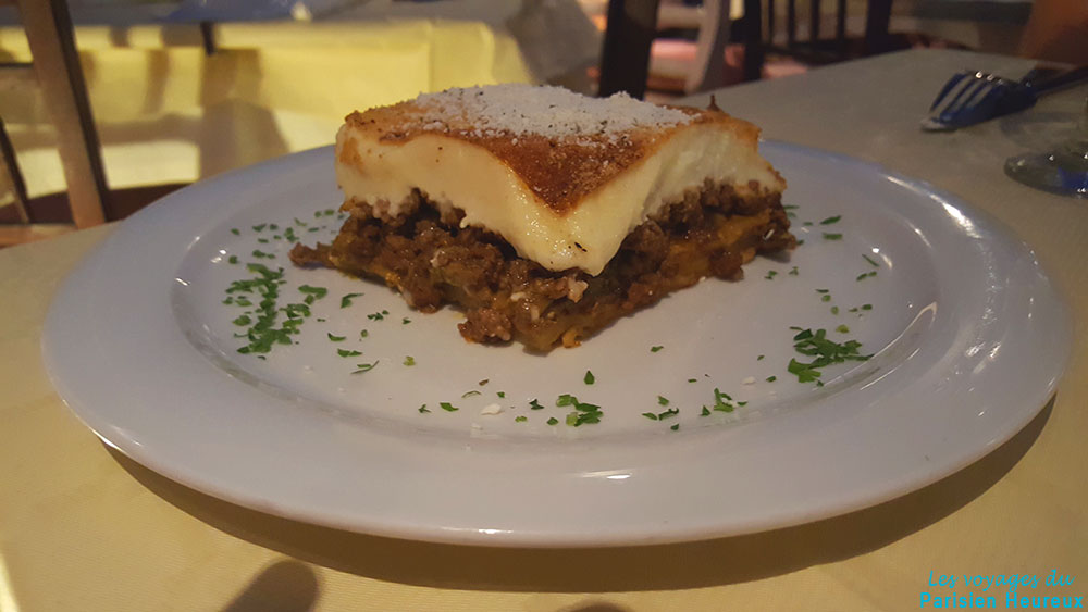 Kyprida, restaurant à Oia, Santorin