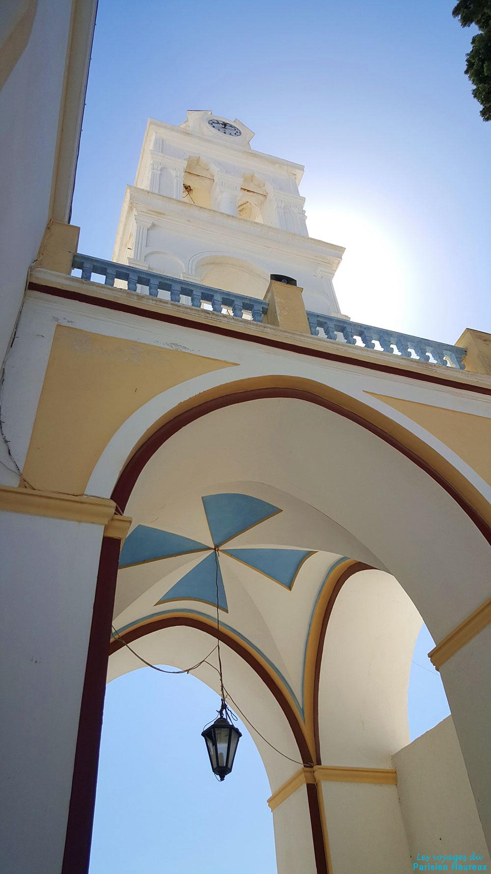 Megalochori à Santorin