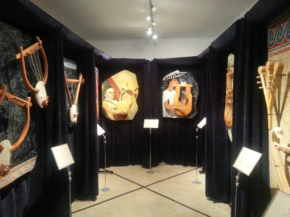 Musée des instruments de musique à Oia