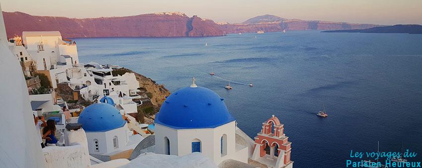 Oia à Santorin en Grèce