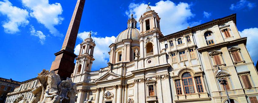 L'église Sainte-Agnès-en-Agone de Rome