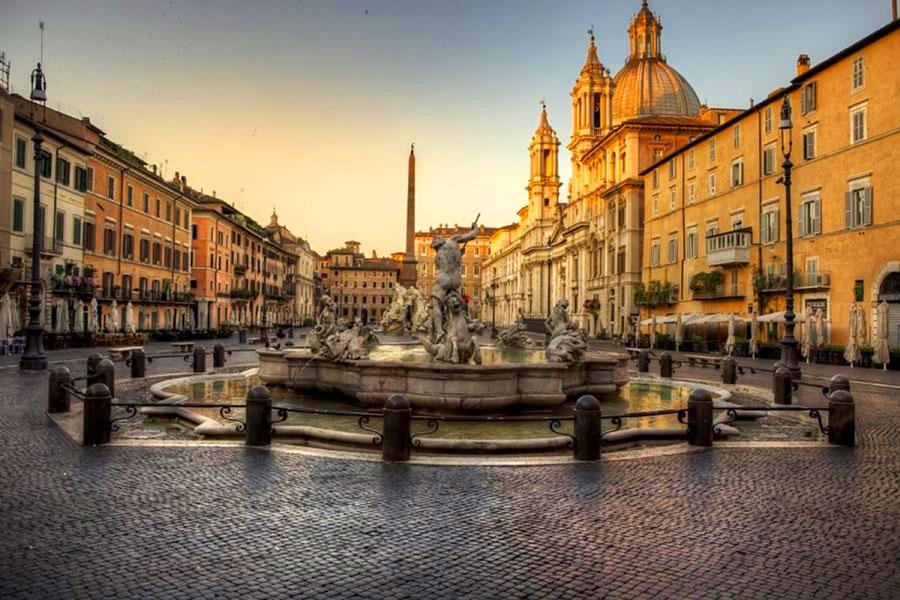 Place Navona à Rome
