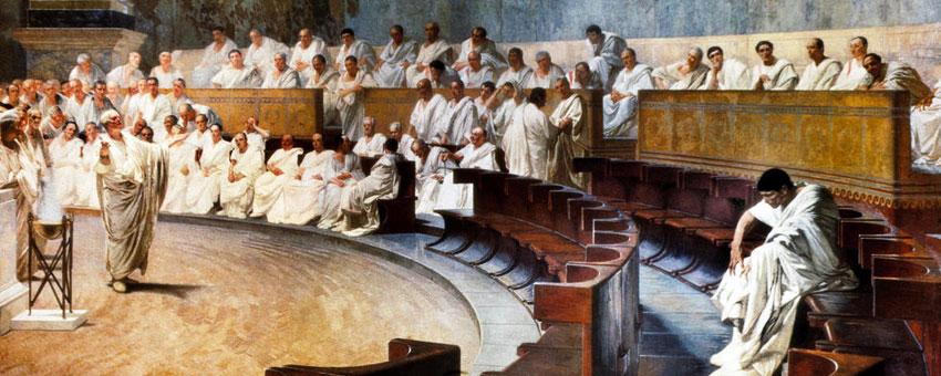 Le sénat de la Roma antique
