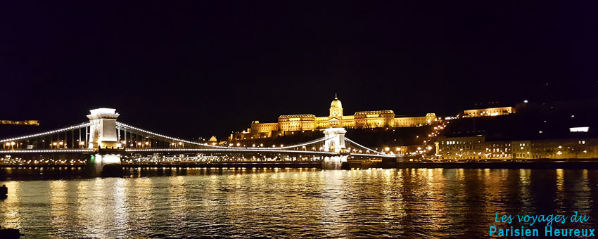 Le chateau de Buda depuis le Danube