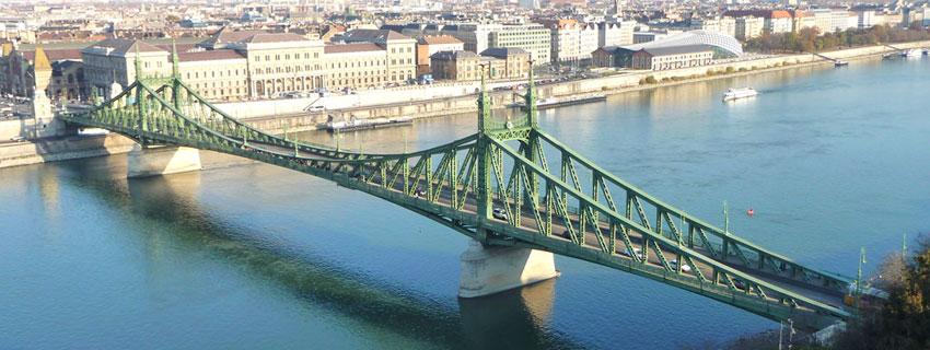 Le pont de la Liberté du Budapest