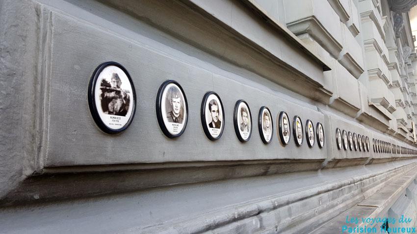 La Maison de la Terreur à Budapest (le musée du totalitarisme)