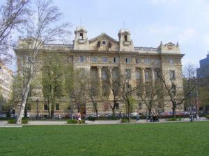 La banque nationale hongroise à Budapest