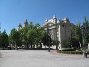 L'ancien Palais de la Bourse de Budapest