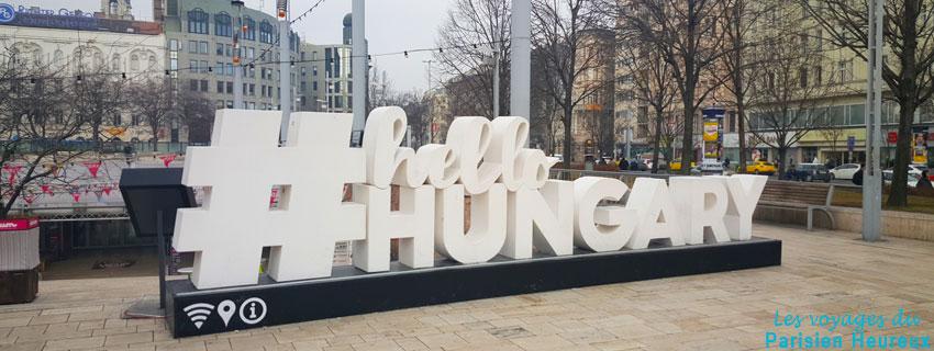 Centre ville de Budapest