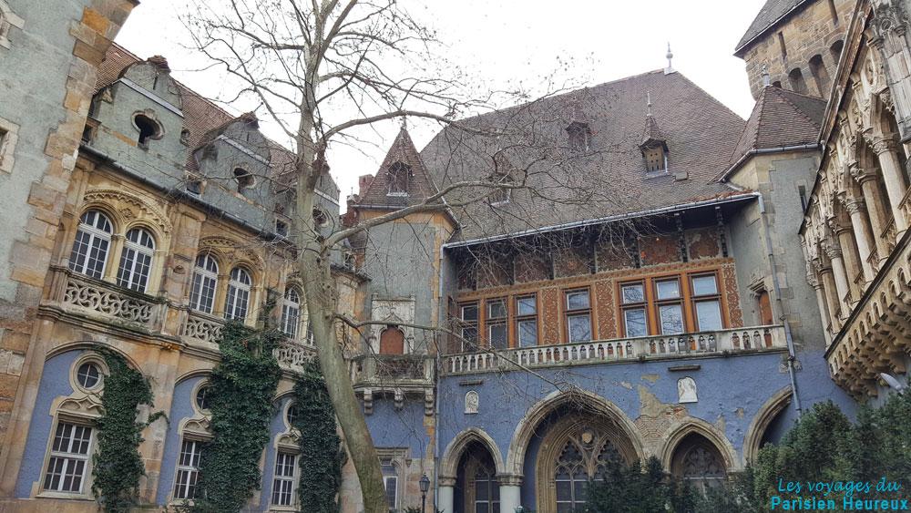 Le château de Vajdahunyad de Budapest