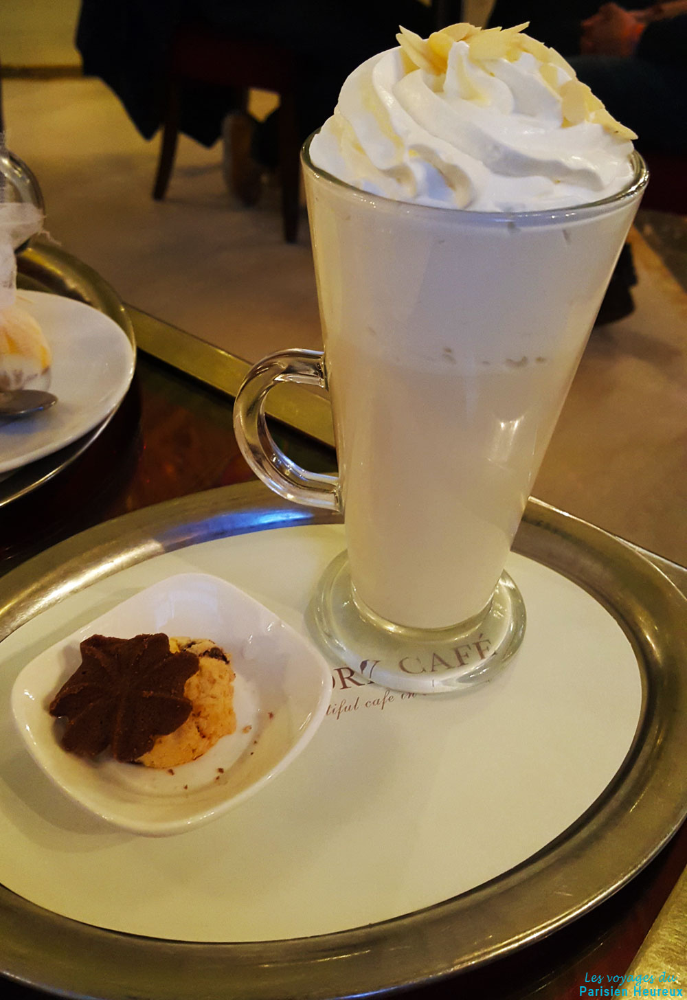 Chocolat blanc au New York Café de Budapest