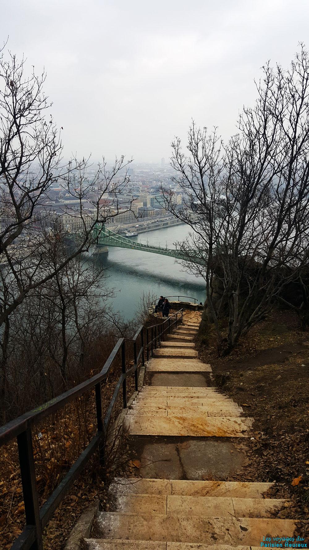 Escalier du Mont Gellért