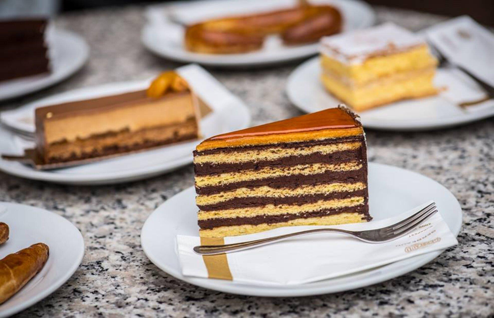 Gâteau Dobos de la Maison Gerbeaud