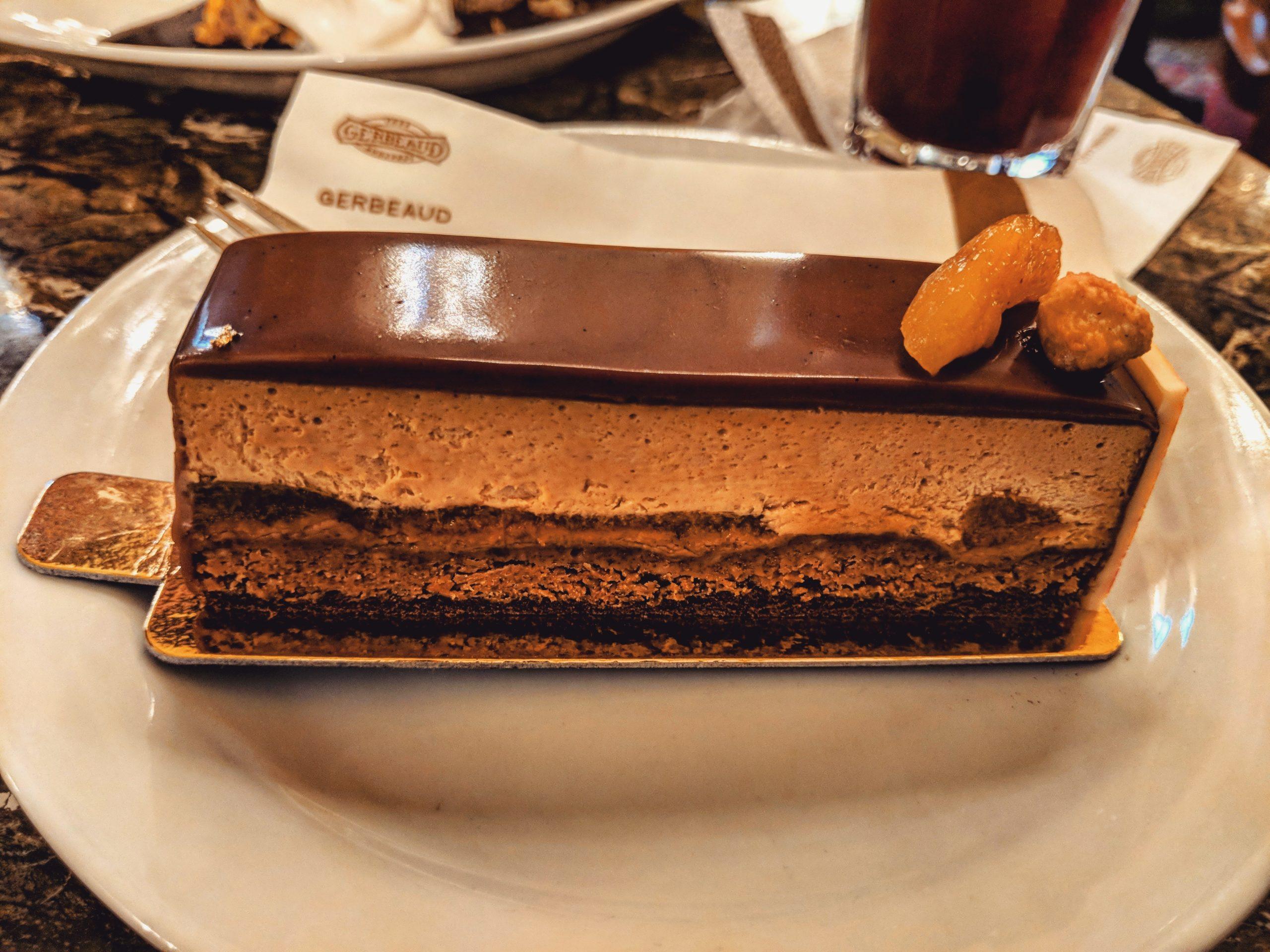 Gâteau de la Maison Gerbeaud