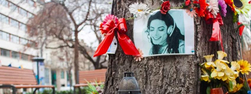 L'arbre Michael Jackson à Budapest