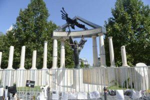 Le monument aux victimes de l'occupation allemande