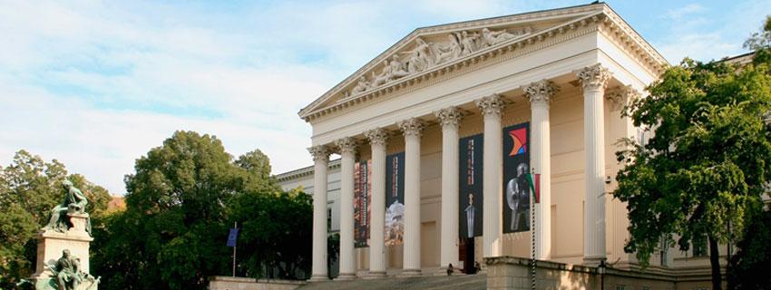 Le musée national hongrois de Budapest