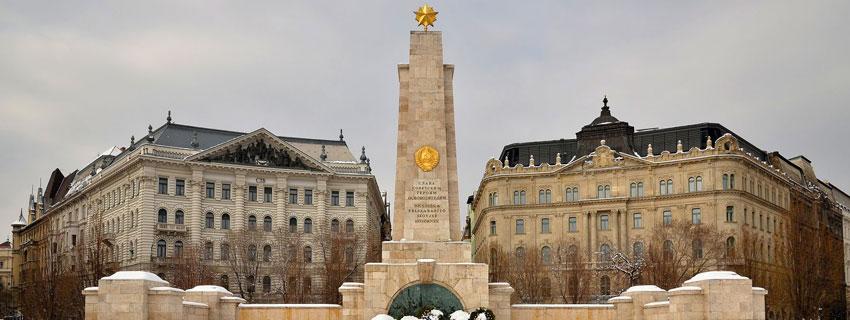 La place de la Liberté à Budapest
