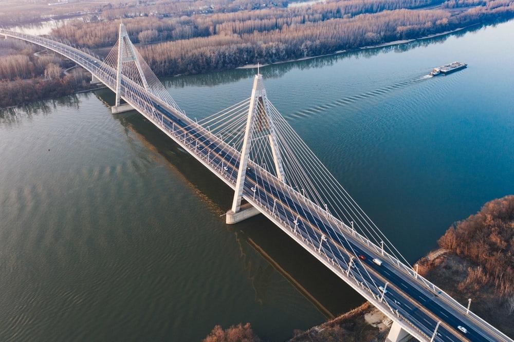 Le pont de Megyer à Budapest