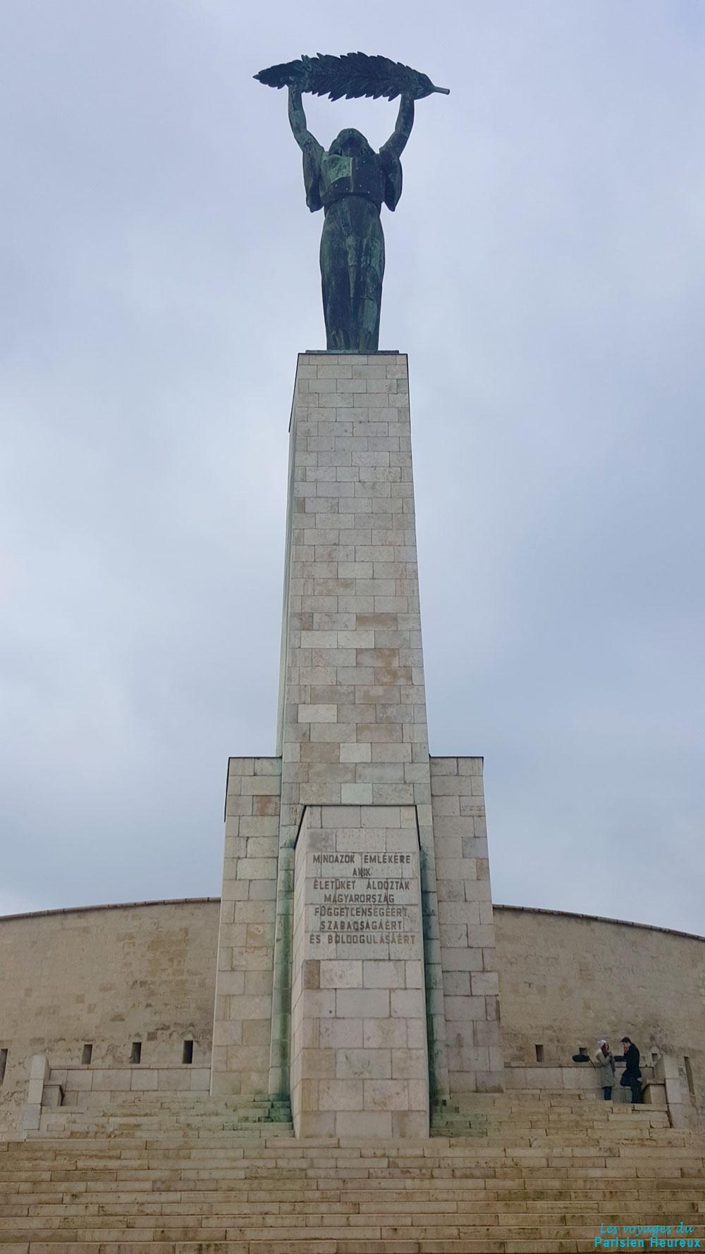 Statue de la Liberté à Budapest
