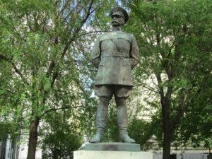 La statue du général américain Harry Hill Bandholtz à Budapest