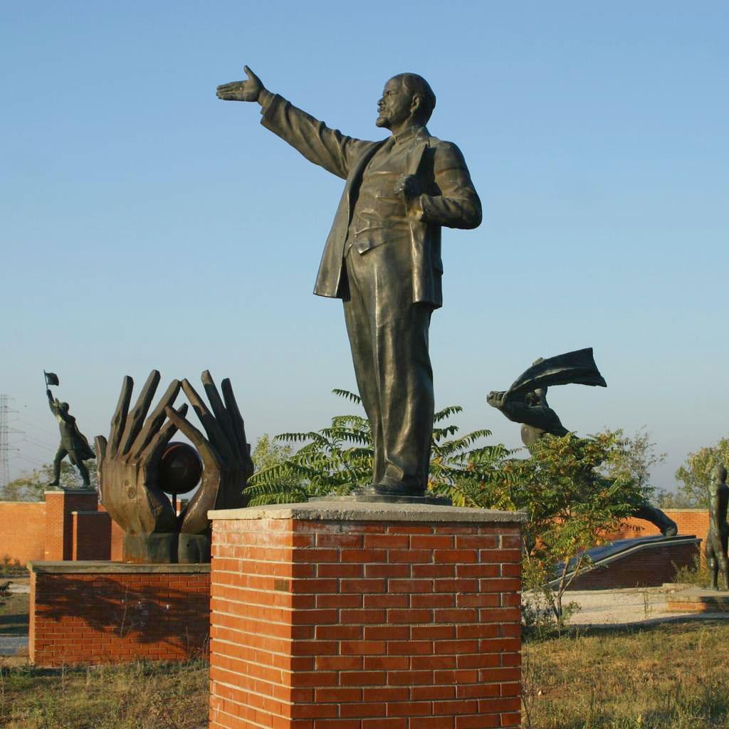 Les statues du Memento Park de Budapest