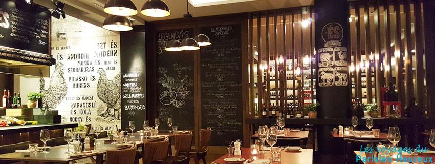 Le restaurant ÉS Bisztró à Budapest