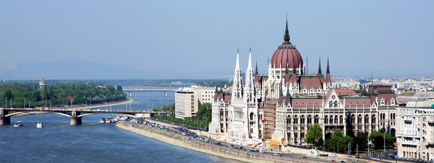 Vue sur Budapest en Hongrie