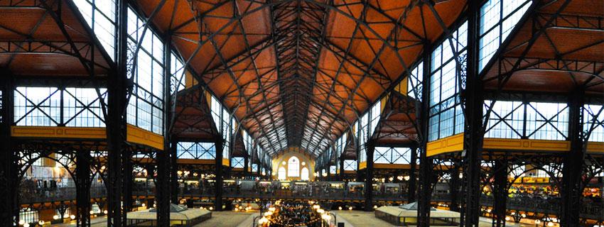 Le marché central de Budapest