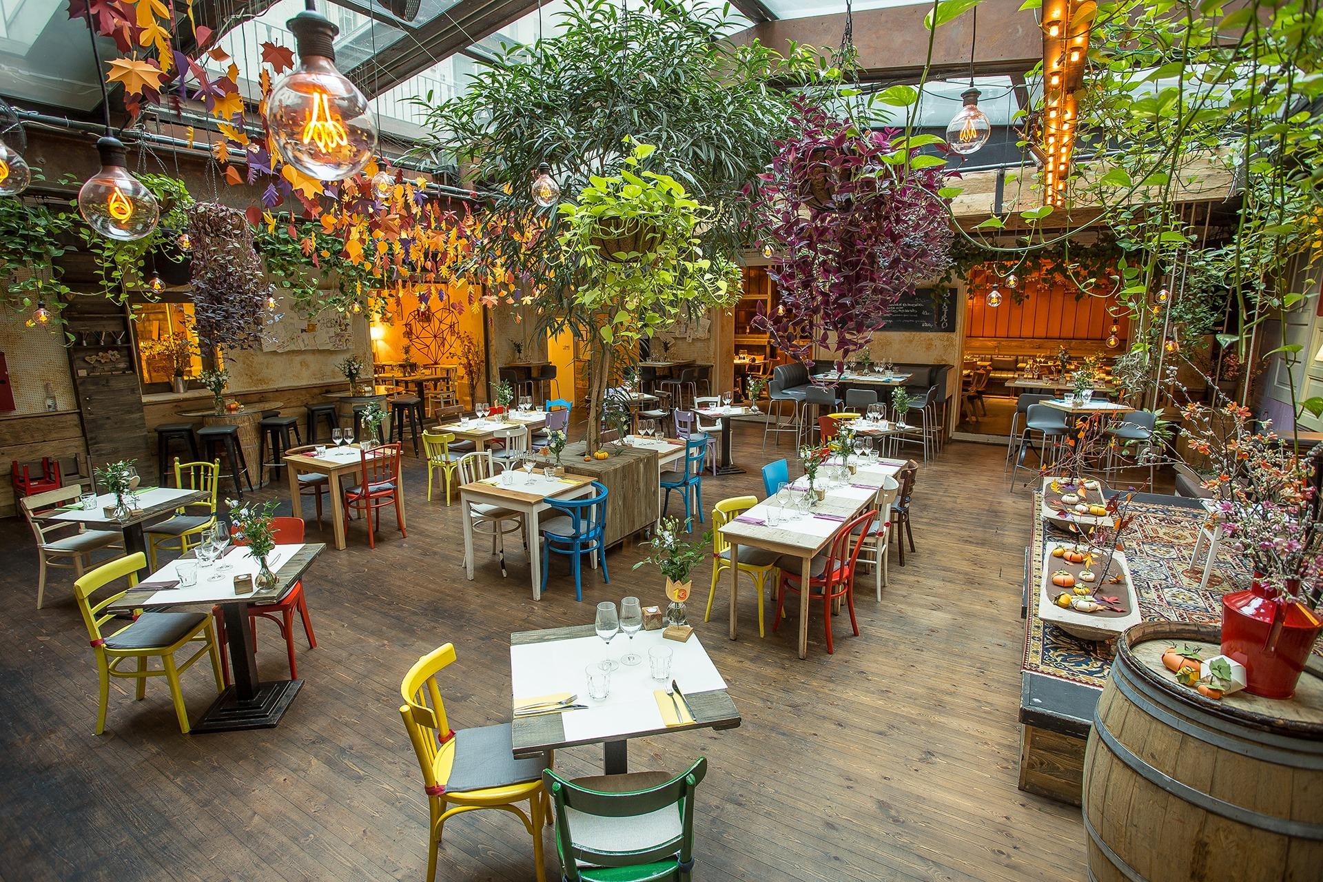 Le restaurant Zeller à Budapest