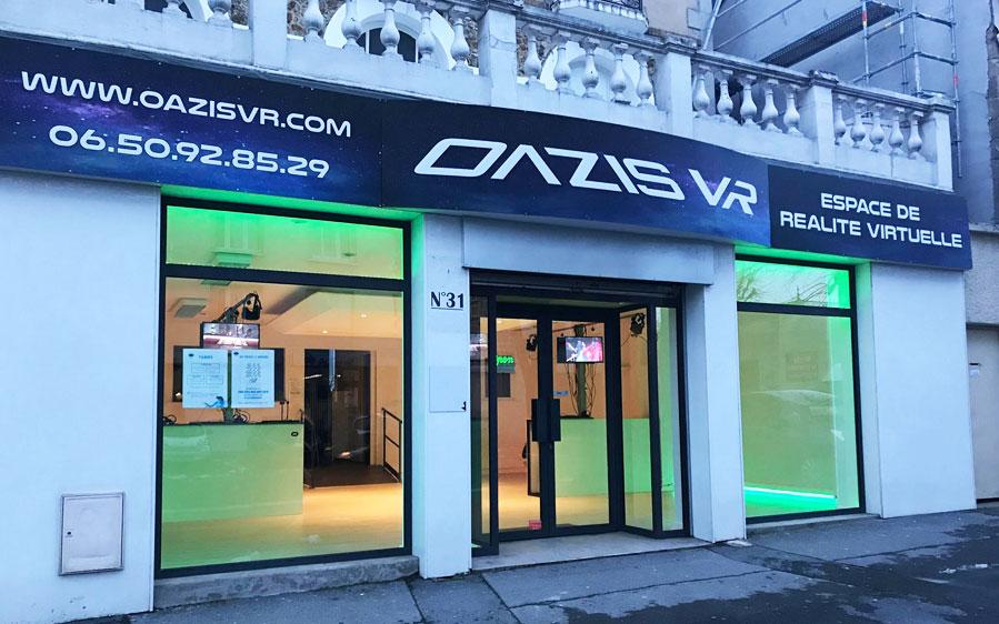 Oazis VR, réalité virtuelle à Reims
