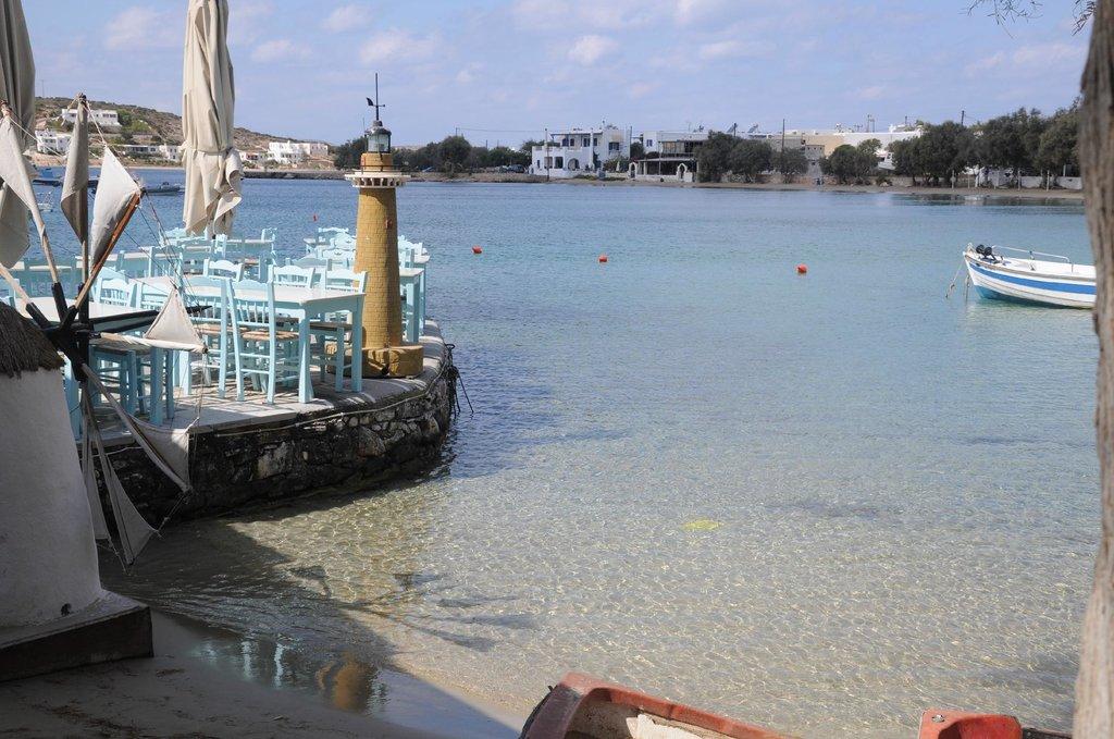 Aliki sur l'île de Paros