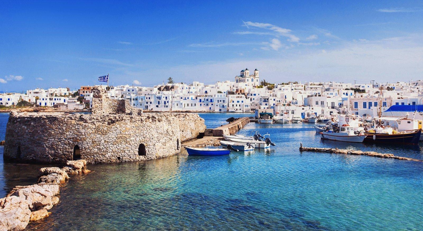 L'île de Paros en Grèce