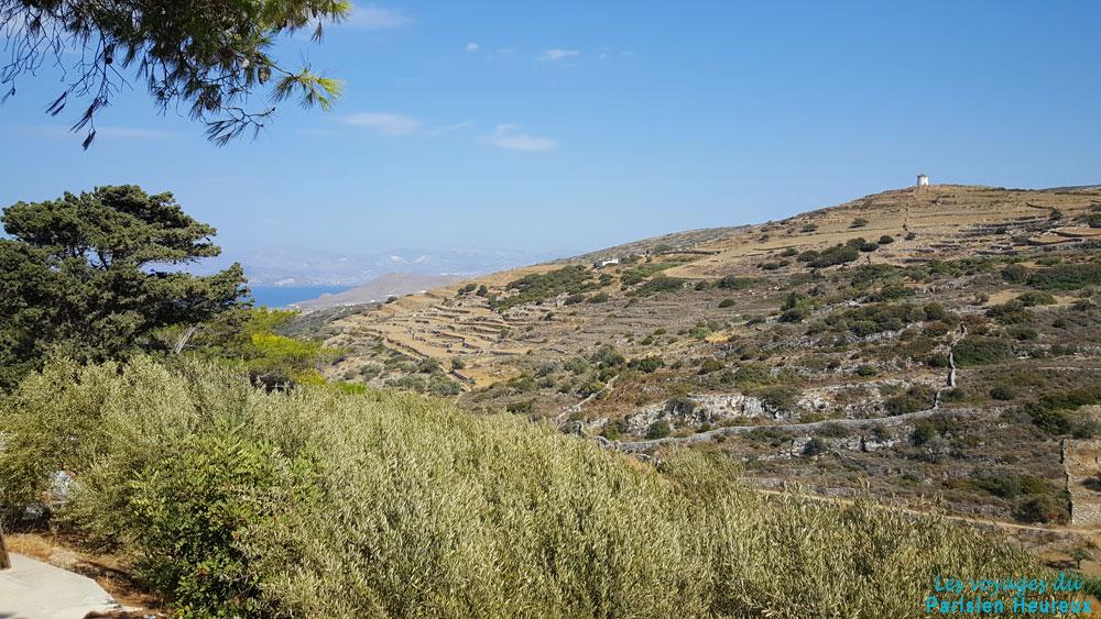 Lefkes sur l'île de Paros