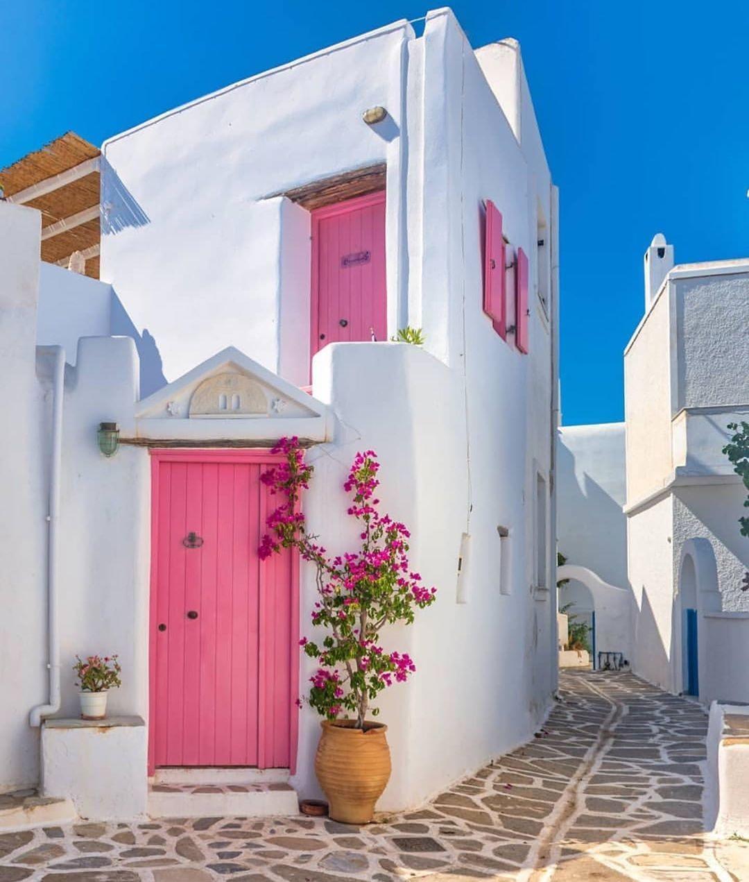 Marpissa sur l'île de Paros