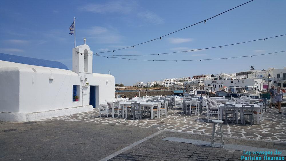 Naoussa sur l'île de Paros