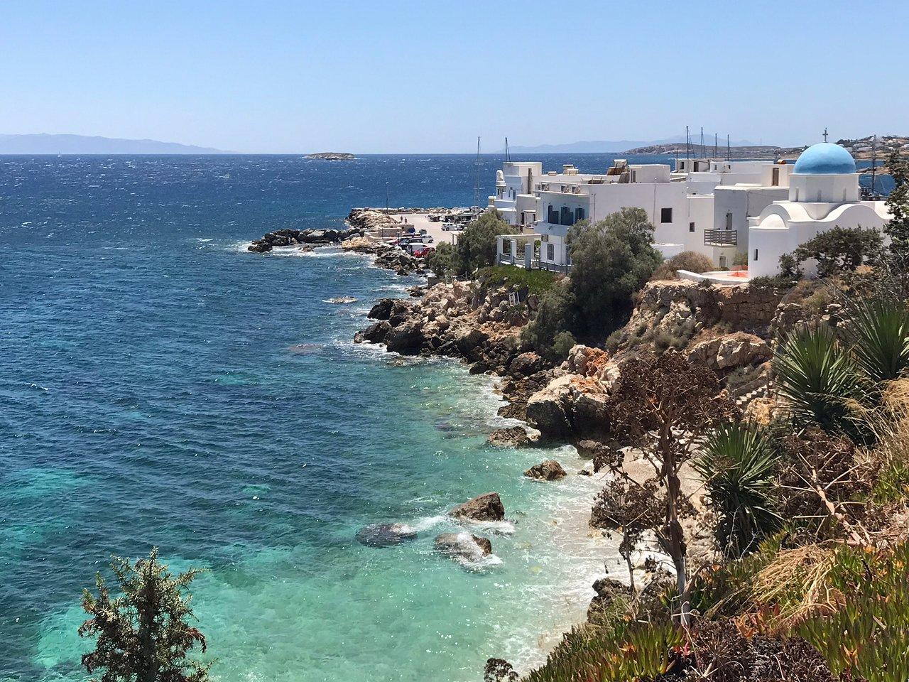 Piso Livadi sur l'île de Paros