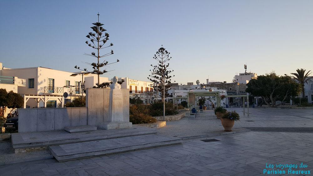 Parikia sur l'île de Paros