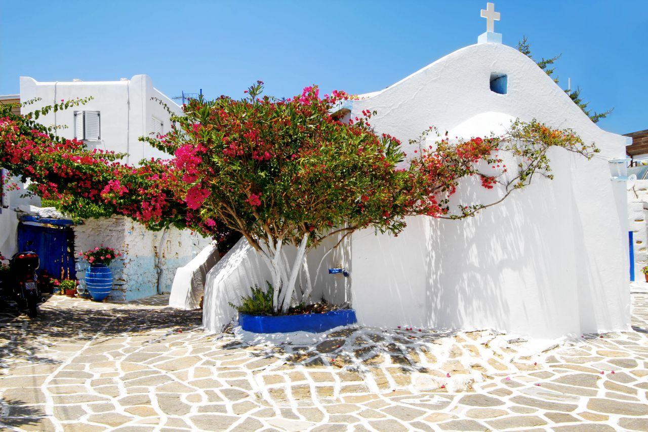 Prodromos sur l'île de Paros