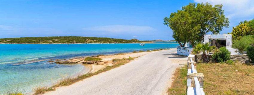 Comment se déplacer sur les routes de Paros ?