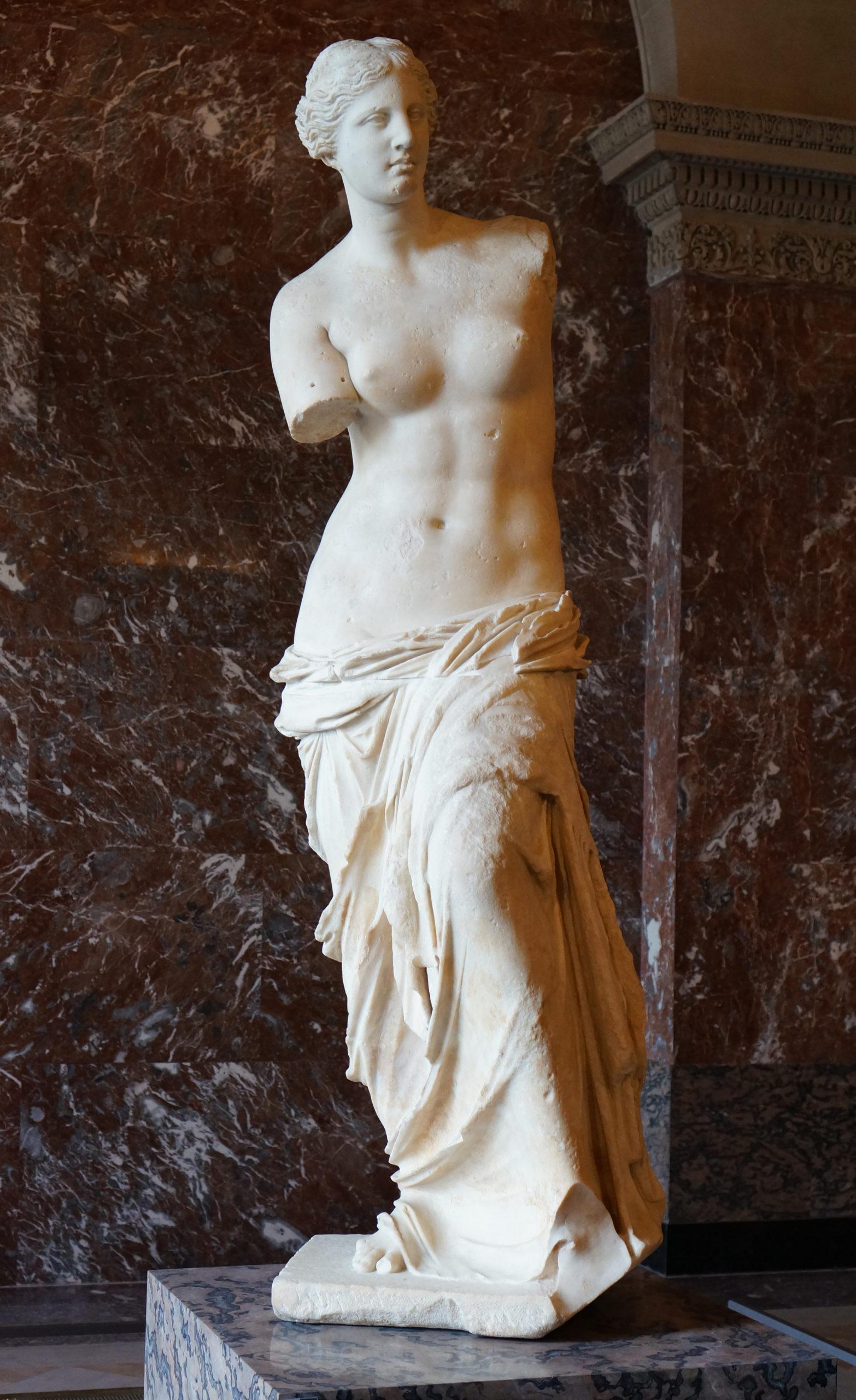 La Venus de Milo en marbre de Paros