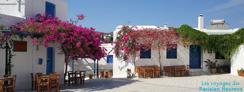 Vieille ville au coeur de l'île de Paros